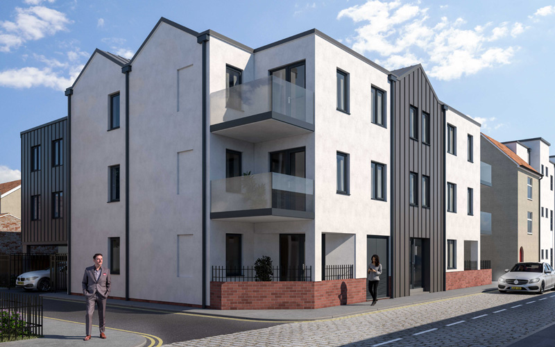 Southville/Bedminster new build development